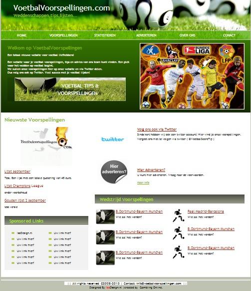 Voetbalvoorspellingen.com